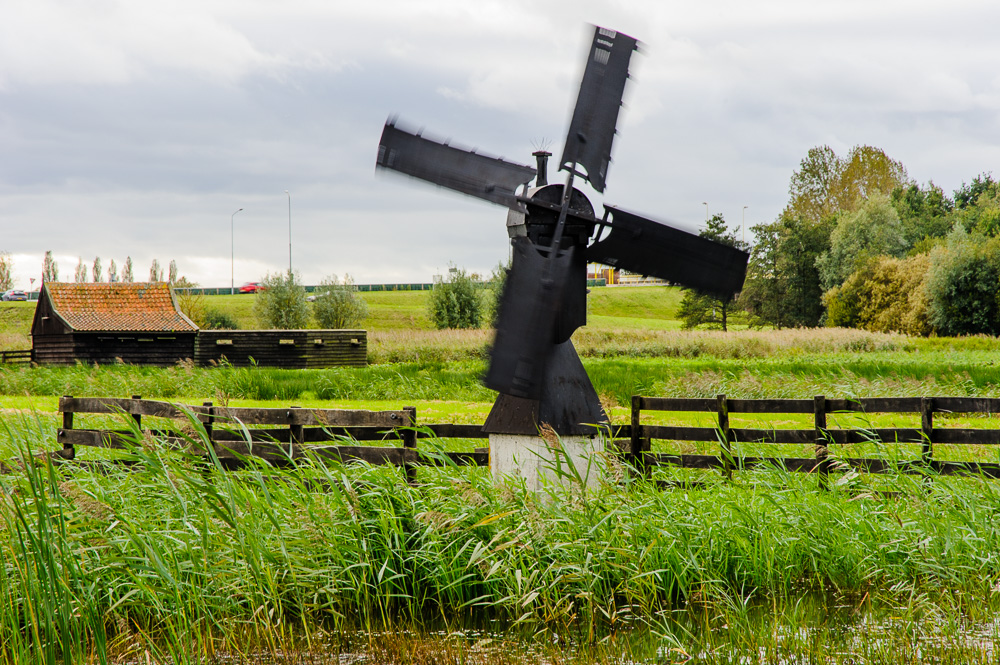 molen in gebied de trickel wormer